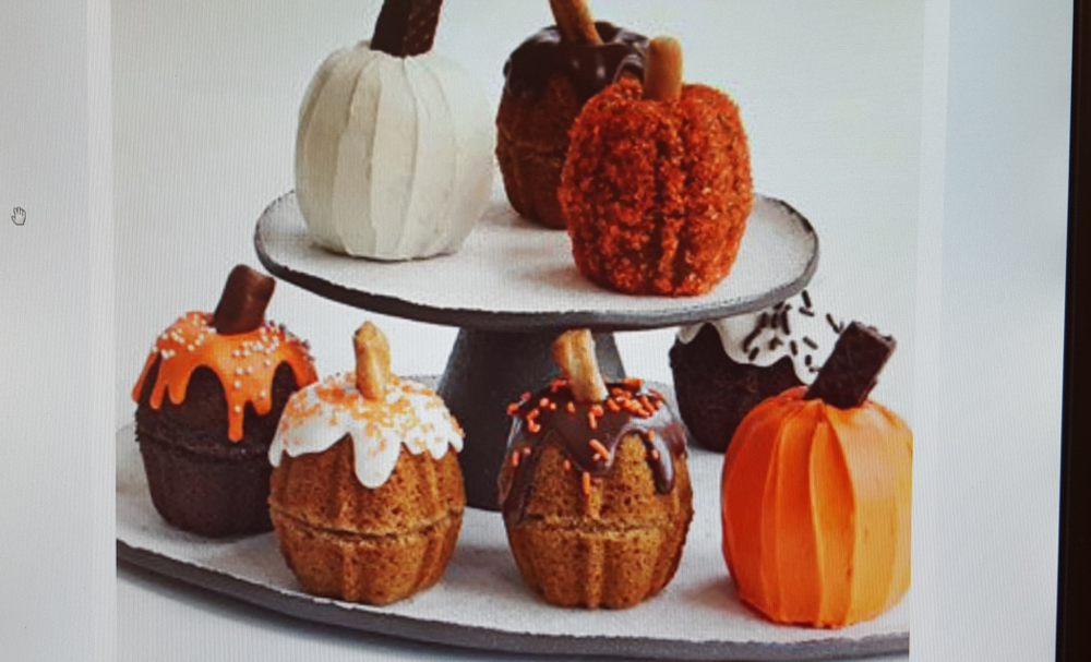 Mini Pumpkin Cake's Photo by Con Poulos originally published in the November 2012 issue of Family Circle Magazine.