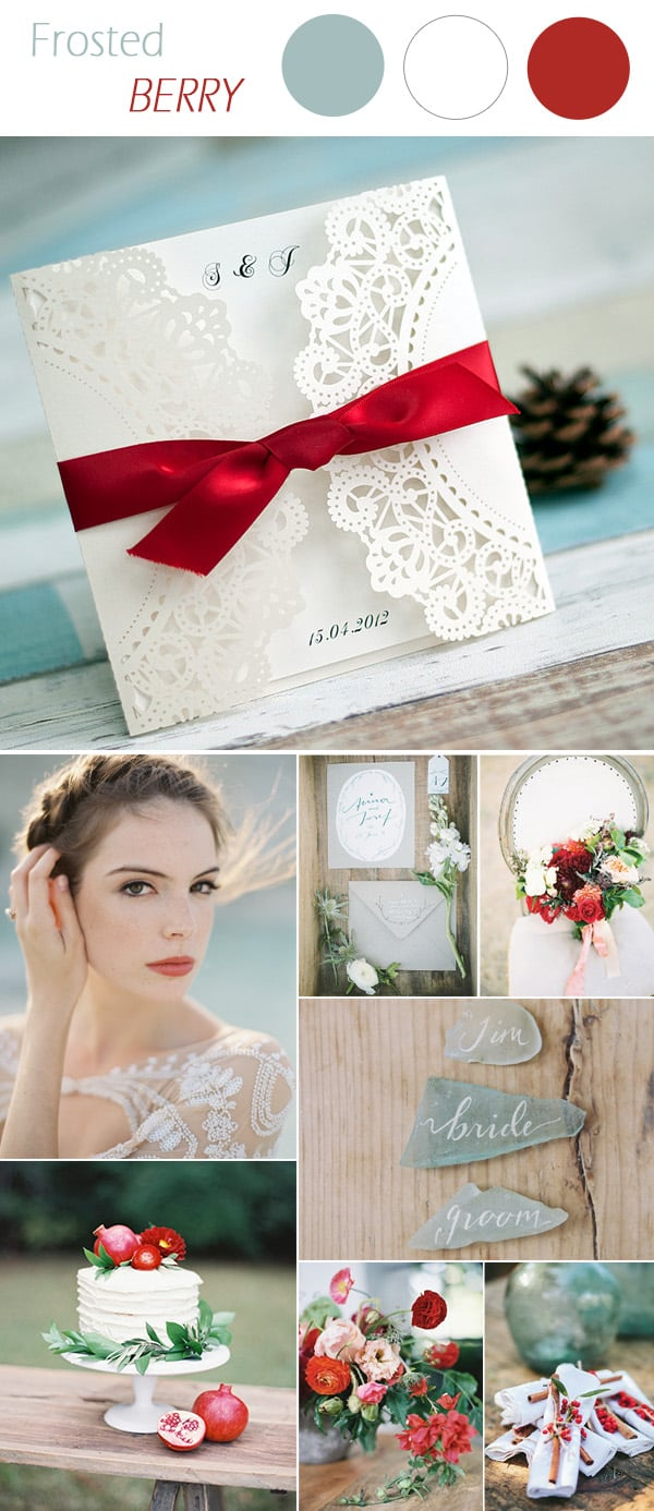 Photo Credit:  Elegant Wedding Invites