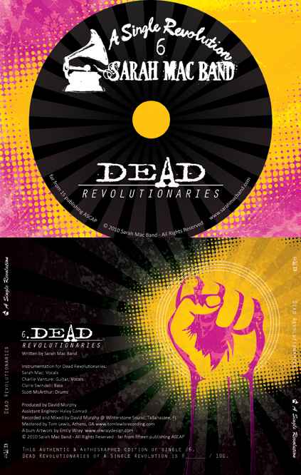 Dead Revolutionaries - CD Tray