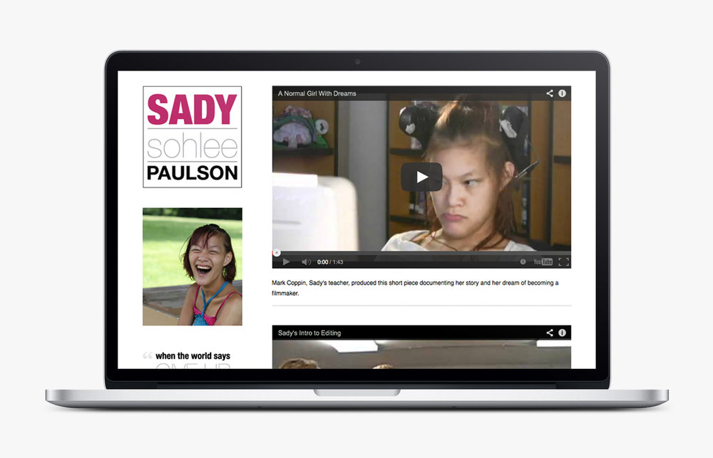 Sady's First Portfolio Site