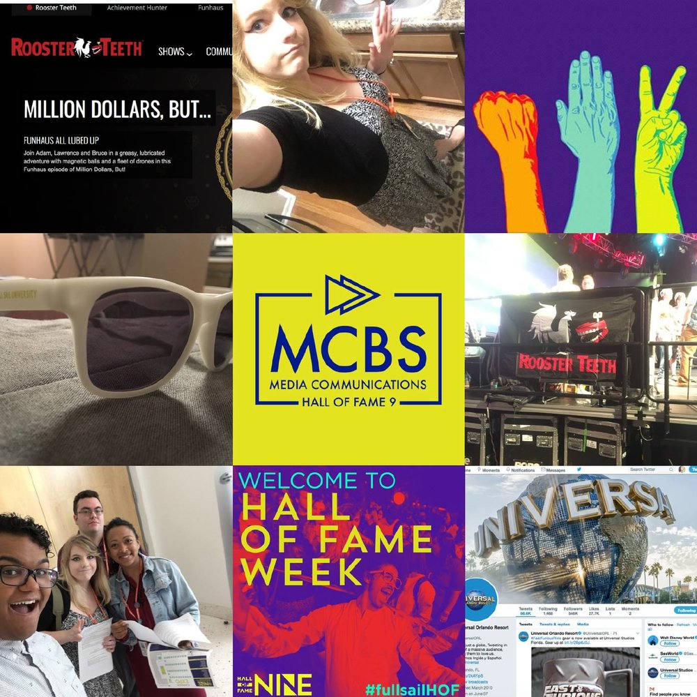 Photo Collage of MCBS Student - Stacy Blake