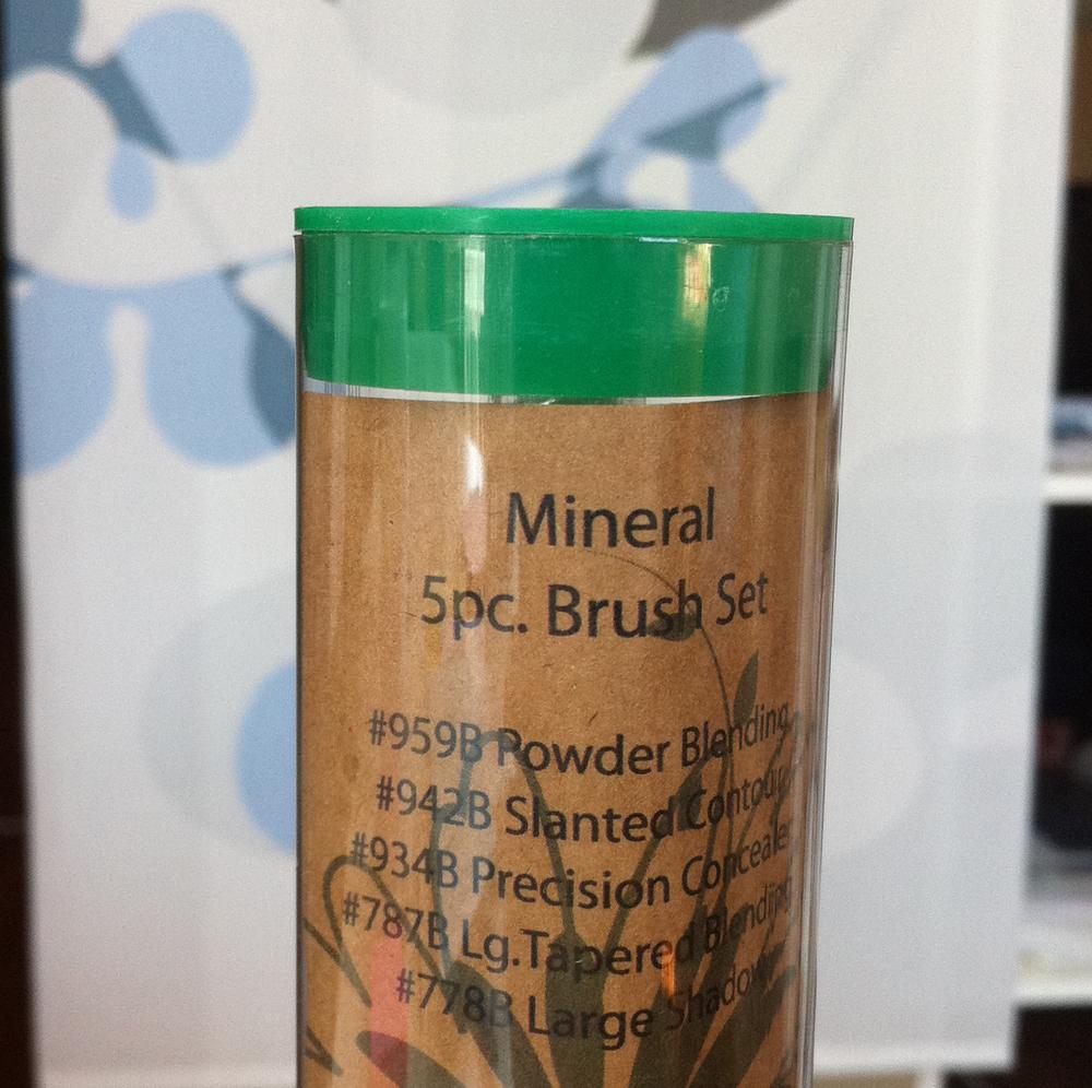 mineral 5pc brush set