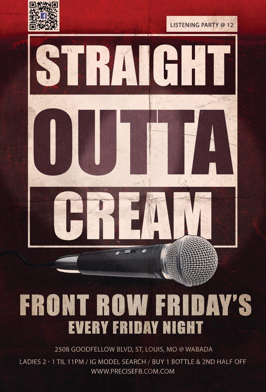 Front Row Friday's / PreciseFB.com / Cream Ultra Lounge