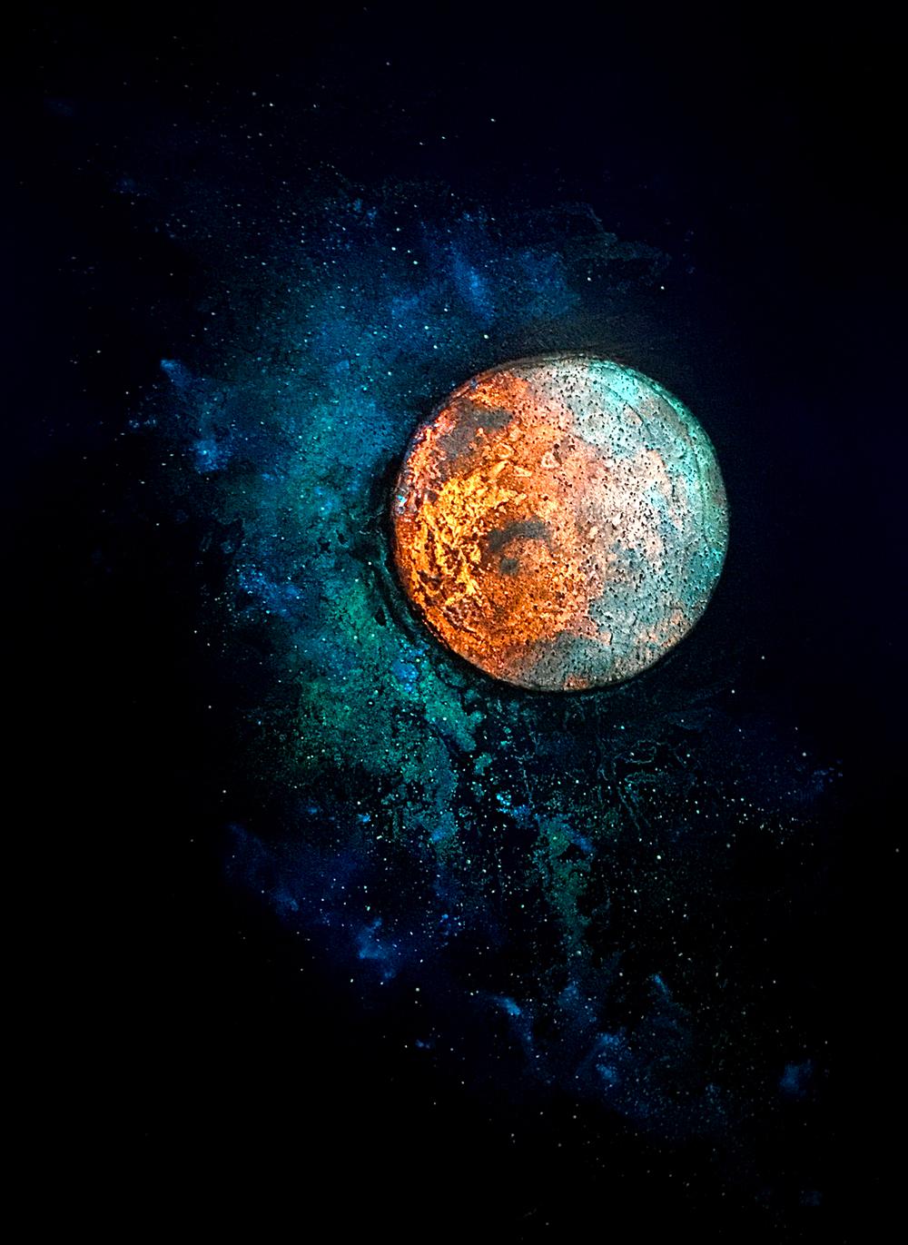 Mars and Luna