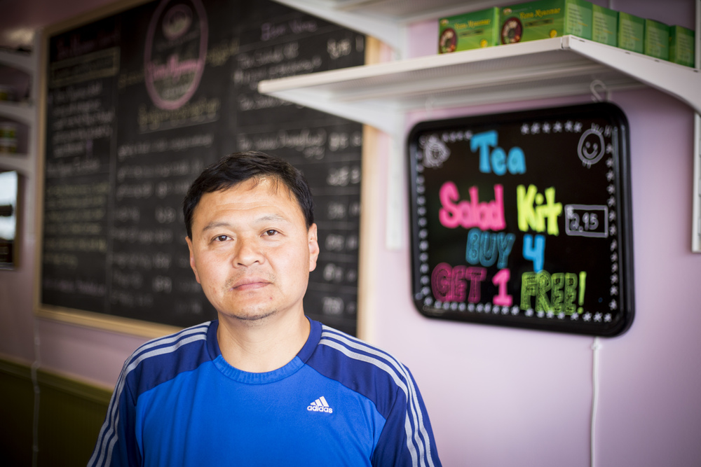 From freedom fighter to top chef at Yoma - Sai Kyaw. By Ann Wang