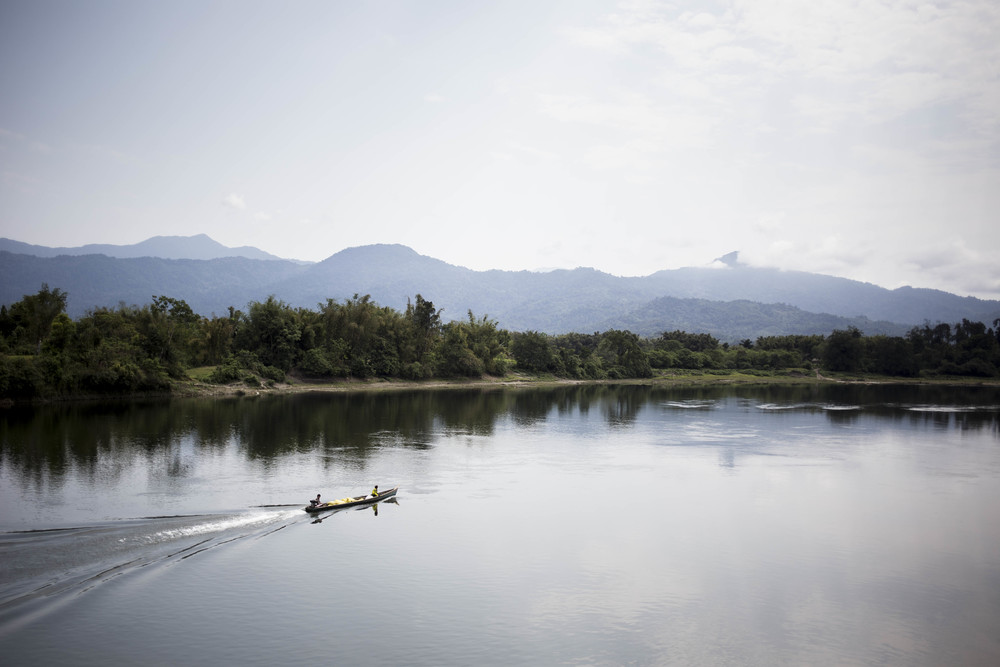 The rawangs lives around the Salween river. Photo by Ann Wang