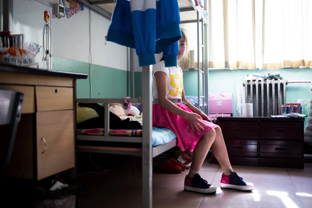 Children of the Harbor. A photo essay about tennagers living with HIV at a school in rural Shanxi, China. Photo by Ann Wang