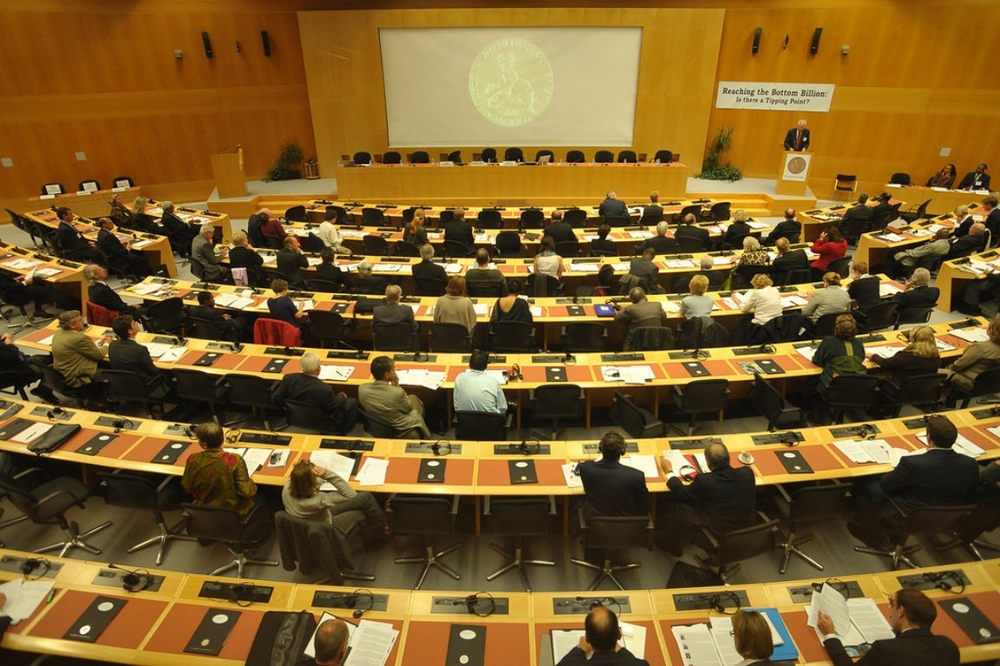 Hilton Symposium at the WMO, Geneva, Switzerland