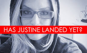 Justine Sacco caused a twitterstorm in December 2013 before boarding an 11-hour flight