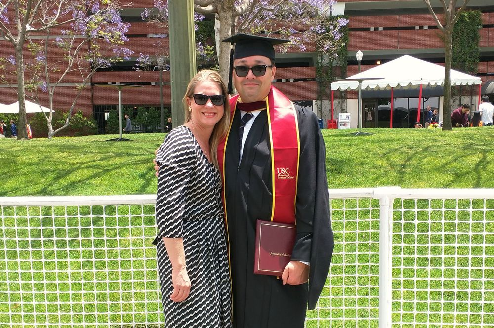 Marc Moorghen, Graduation USC 2015