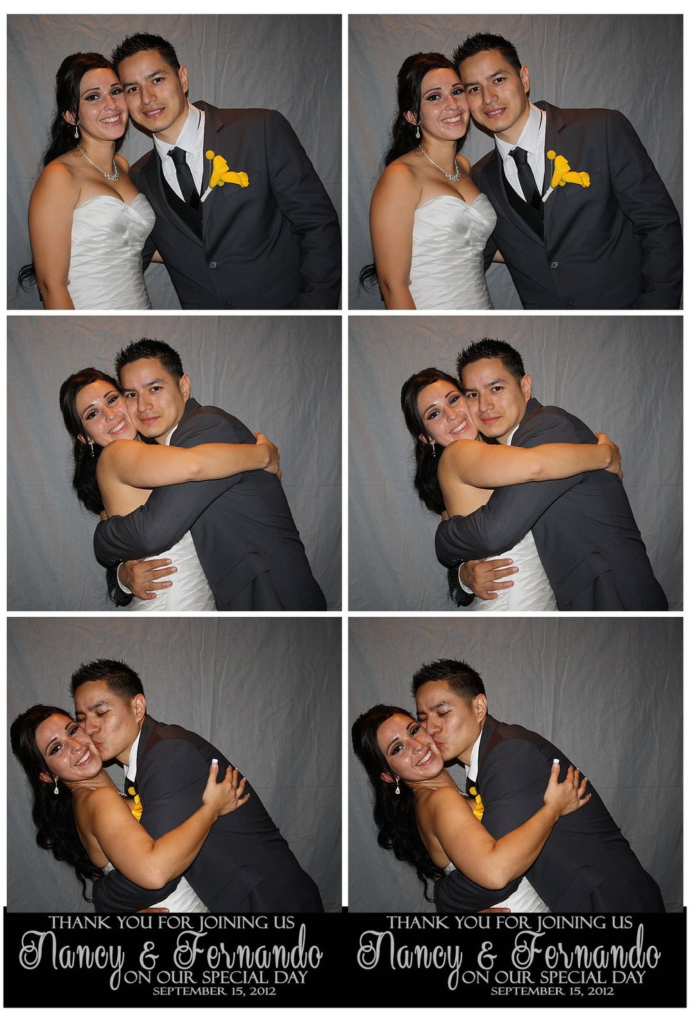 Congratulations to Nancy & Fernando!