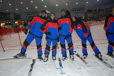 Sadiq, AAK, Zashadu and Jemila; Naija crew bigging it up!