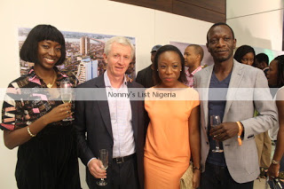 The lovely Steven and Ebi of Etisalat Nigeria, our partners