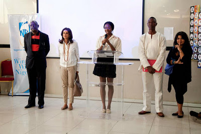 Introducing the judges at the NAC Grand Finale Exhibition