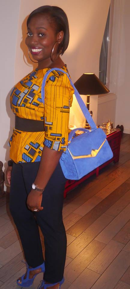 Ready to hit the streets of Paris with the blue SS14 Total Knock Out