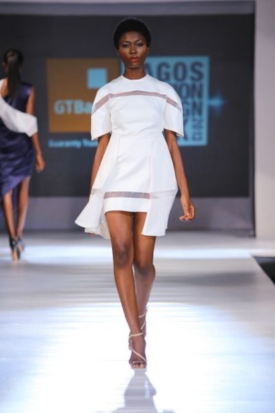 My favorite look from Bridget Awosika at Lagos Fashion Week.