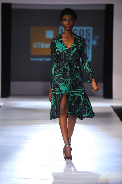 My favorite look from Jewel By Lisa at Lagos Fashion Week