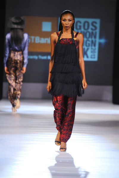 My favorite look from Maki Oh at Lagos Fashion Week