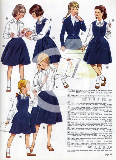 1950's Uniform English Catalogue