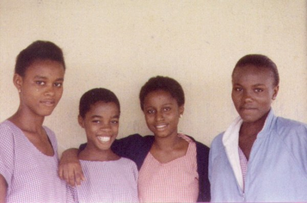 Just a beautiful picture of girls in pastel coloured Uniforms. Image from MotherlandNigeria.com