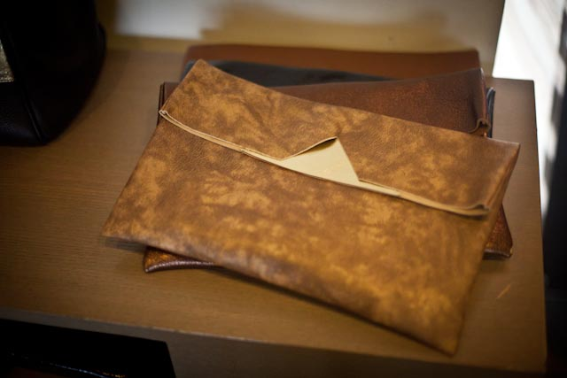 Easy Fold Pouches are the perfect, perfect, perfect clutches.