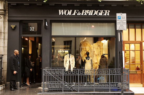 Zashadu will be stocked at the Mayfair branch of Wolf and Badger, London, from the 2nd of February!