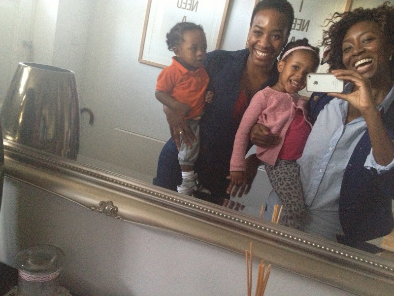 Next stop London, my lovely sister, Karimah Ashadu happened to be passing through London after one of her Artist residencies. We spent some quality time with our niece and nephew, the most beautiful little people on earth.