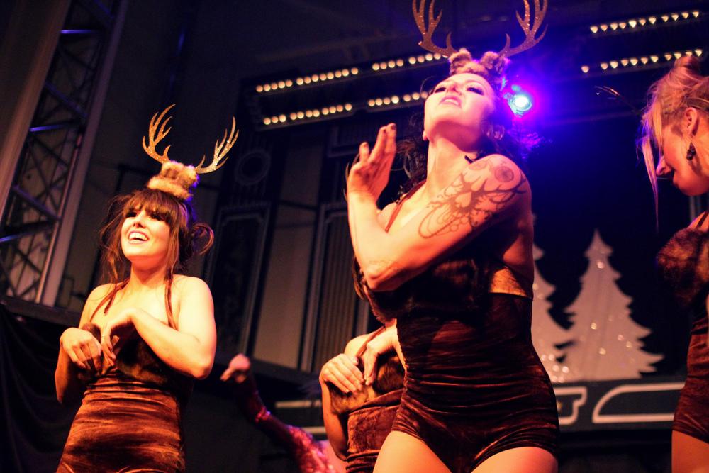 Dancing Reindeer.