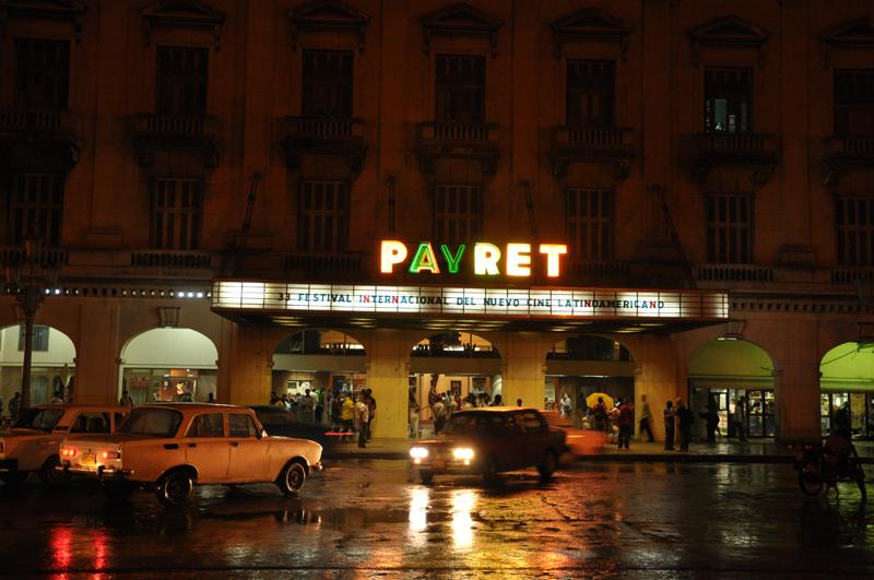 Festival Internacional del Nuevo Cine Latinoamericano, Payret,Cuba