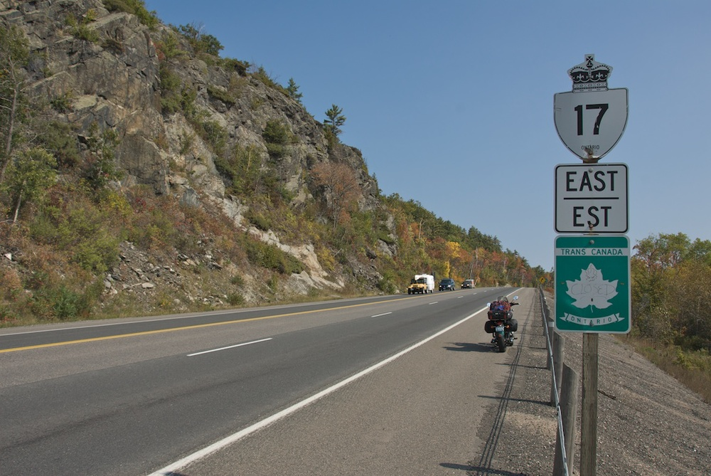Remembering my first circumnavigation - Lake Huron summer of 2007.