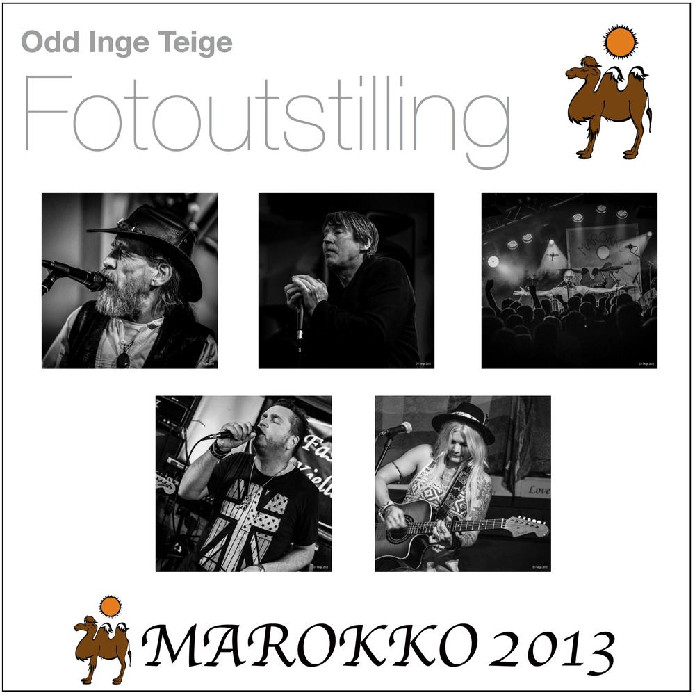 Plakat Fotoutstilling Marokko 2013