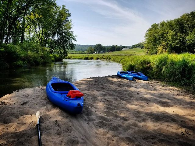 Kayaking up north.  #FarmLife #LifeTold