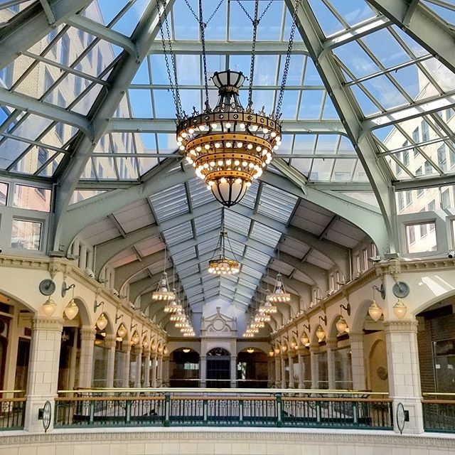 What a beautiful under utilized space. Excited to see what Milwaukee makes of it. It's mostly empty on this side but looks like some remodeling is underway.  #MKE #WalksInTheCity #Wisco  #MyLifeTold #Scouting #Malls