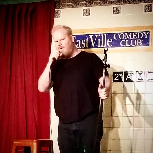 When @jimgaffigan Shows up at the club! Great Night at @eastvillecomedy 😂😁🤗 CC: @natalievh1