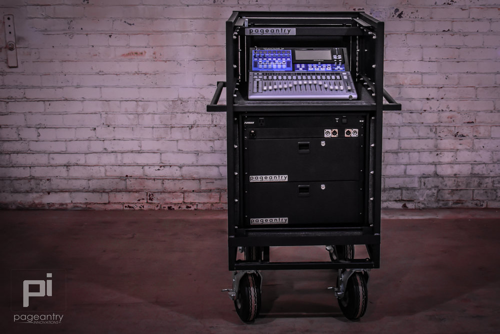 MC-10 Single Mixer Cart