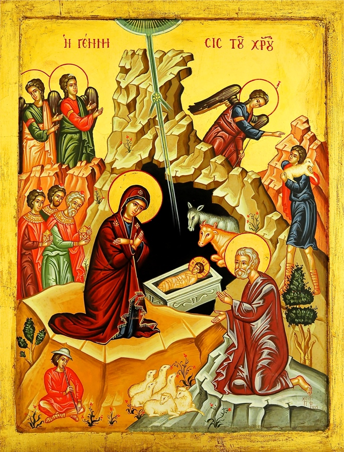 The Nativity of Our Lord , icon, author unknown.