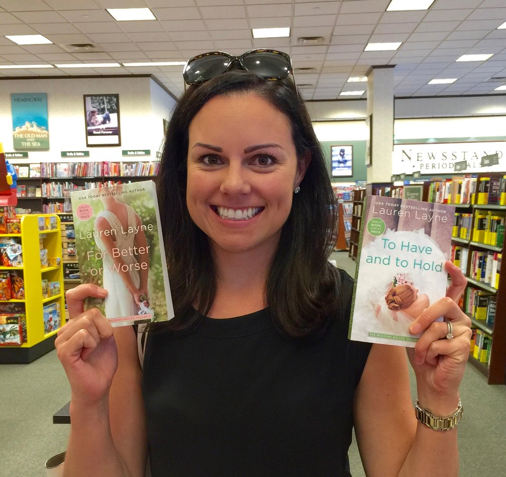 Me at my hometown Barnes and Noble in Lakewood, WA!