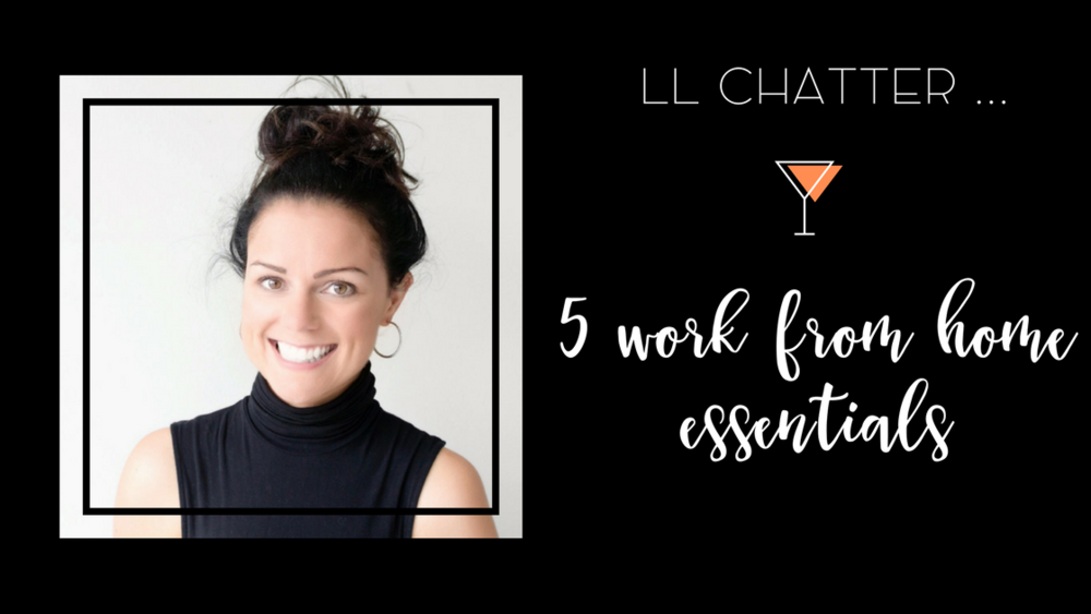 5 work from home essentials