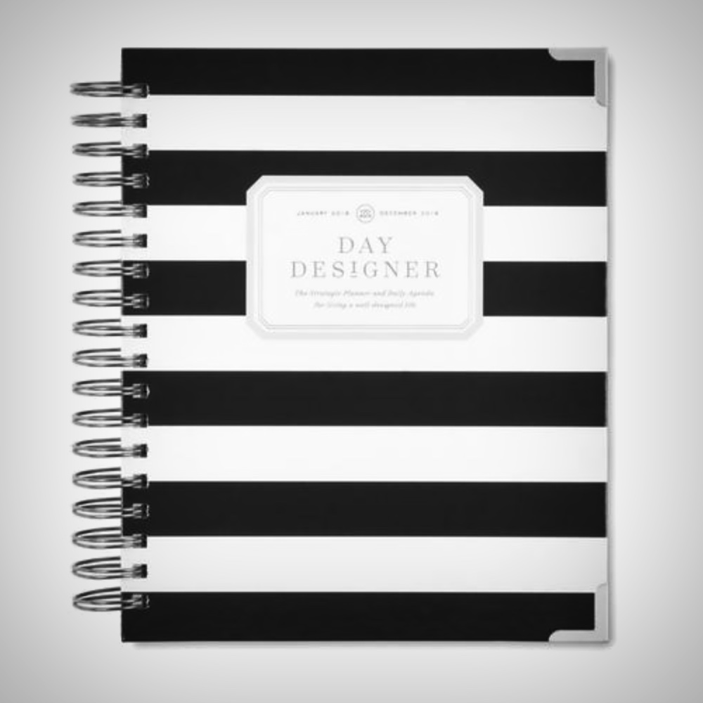 Day Designer  - After much wandering in my planner journey, I've returned to The Day Designer. It's both sophisticated and professional, with no goofy colors or fluff. And the schedule starts at 5am which my morning-person self needs.