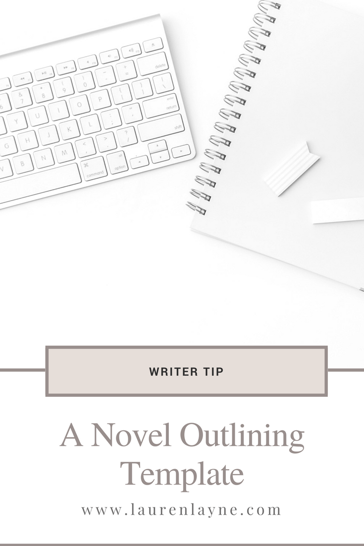 Free Novel Outline Template