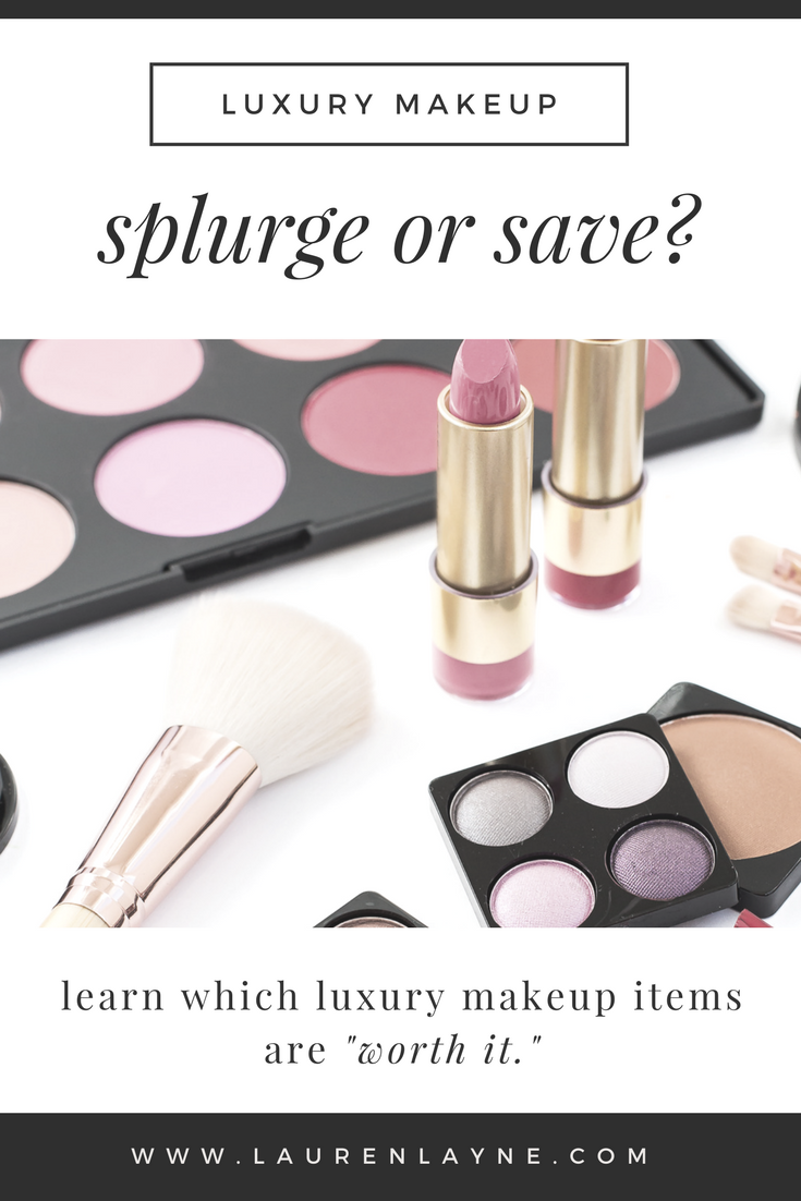 Splurge or Save: Luxury Makeup