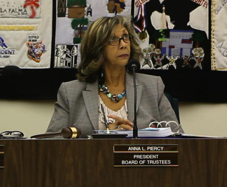 Anna Piercy AUHSD Board President