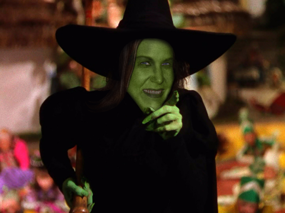 Carrie Nocella - Disney's resident wicked witch who's goal is not get those Ruby slippers but taxpayes funds to build Disney a $319 million streetcar to shuttle guests to the resort. This is distasteful.