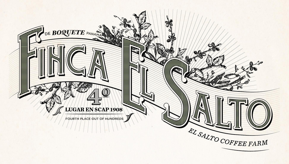 Victorian-inspired typeface, created for a farm's letterhead.