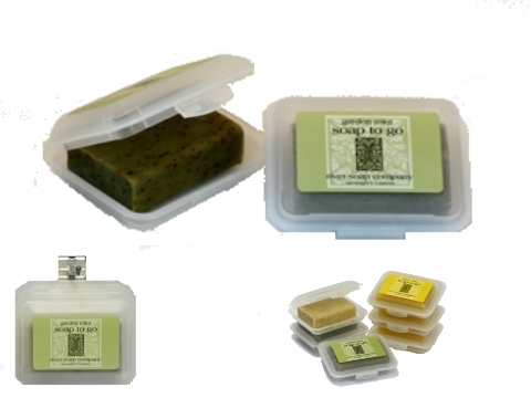 6118 garden mint soap to go