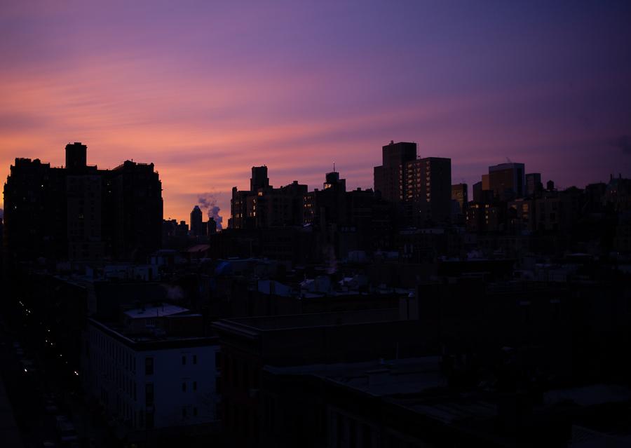 31/365  Gorgeous sunrise over NYC
