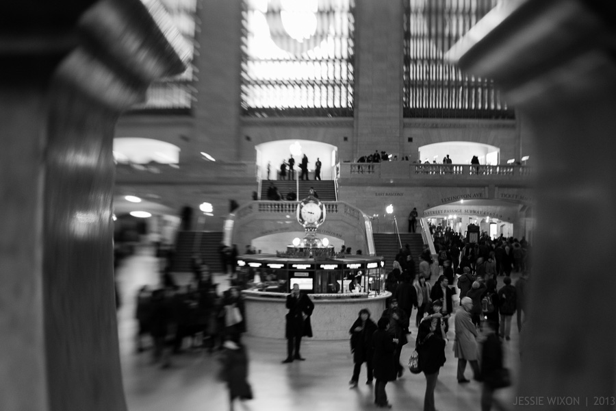 60/365  Grand Central through a lensbaby