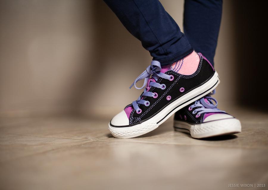 134/365 New kicks