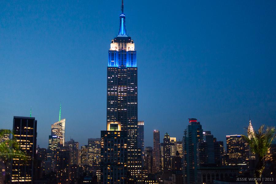 142/365  NYC at night