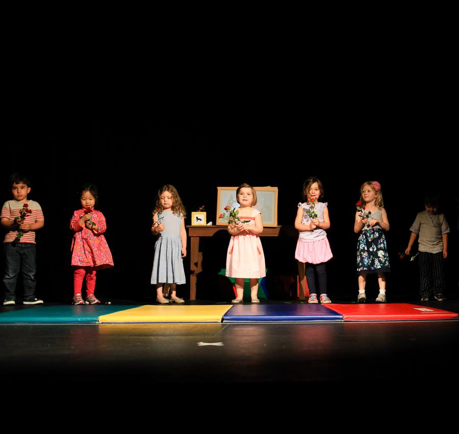 158/162  Harper's Drama class performance